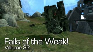 Halo: Reach - Fails of the Weak Volume 32! (Funny Halo Screw Ups and Bloopers!)