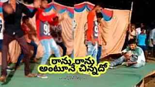 """Ranu ranu antune chinnadi""       jayam song dance performance by victory dance group"