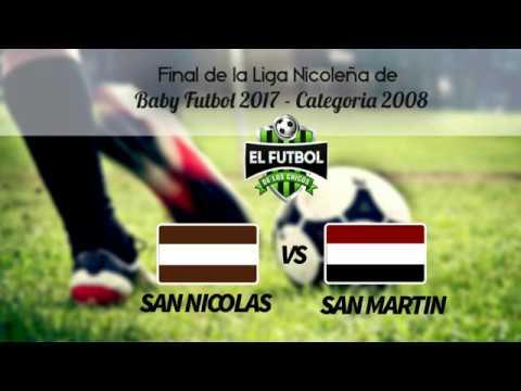 San Nicolás vs San Martín del Valle (Baby Fútbol)
