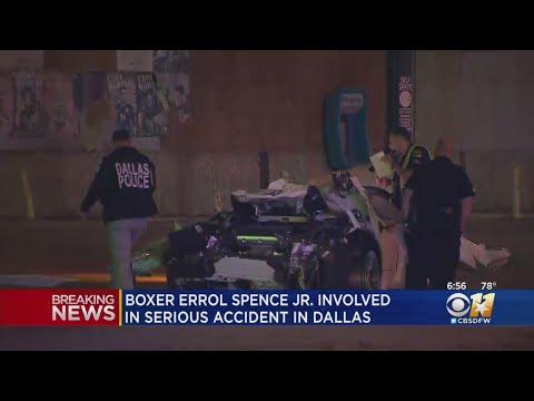 Cosmic Kev -  Prayers Up: Boxer Errol Spence Jr. Seriously Injured in Car Crash