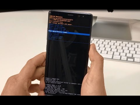 How To Reset Samsung Galaxy Note 8 - Hard Reset and Soft Reset