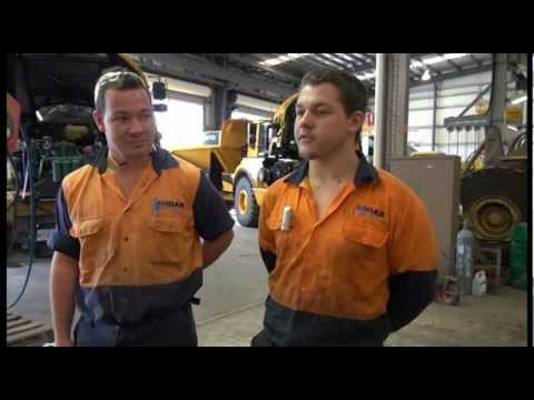 MIGAS Apprentices and Trainees - The Life of a MIGAS Diesel Fitting Apprentice!