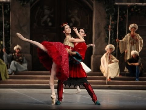 Raymonda ballet (the best parts) Glazunov, Francesca Podini