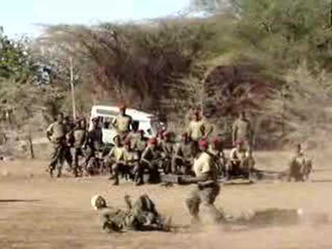 Training the Kenyan Soliders