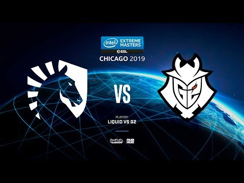Liquid Vs G2 - IEM Chicago 2019 - Map1 - De_dust2 [pch3lkin & Craggy]