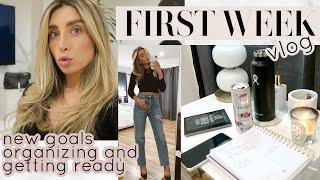 First Week of My New Year Goals... | VLOG Lauren Elizabeth
