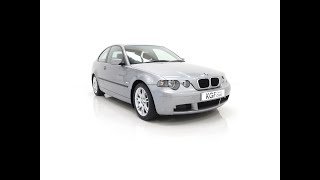 A Superb BMW E46 316Ti Sport Compact with Only 18,507 Miles and One Owner - £4,595