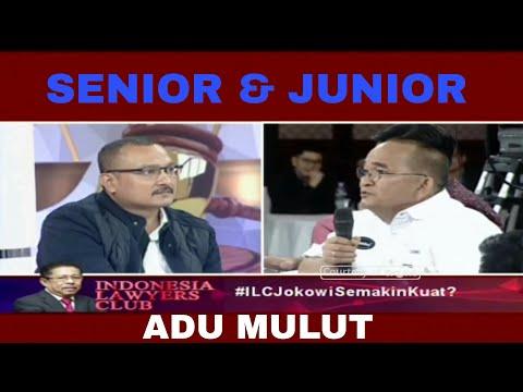 ADU MULUT SENIOR & JUNIOR KADER PARTAI DEMOKRAT - RUHUT MARAH, ILC 27 FEBRUARI 2018