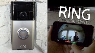 Ring Video Doorbell Review | Bringing Safety & Security To Your Home(Ring video doorbell is the world's first Wi-Fi enabled, battery operated, HD video doorbell. Communicate with those who are at your door via your iOS/Android ..., 2015-03-21T01:03:34.000Z)