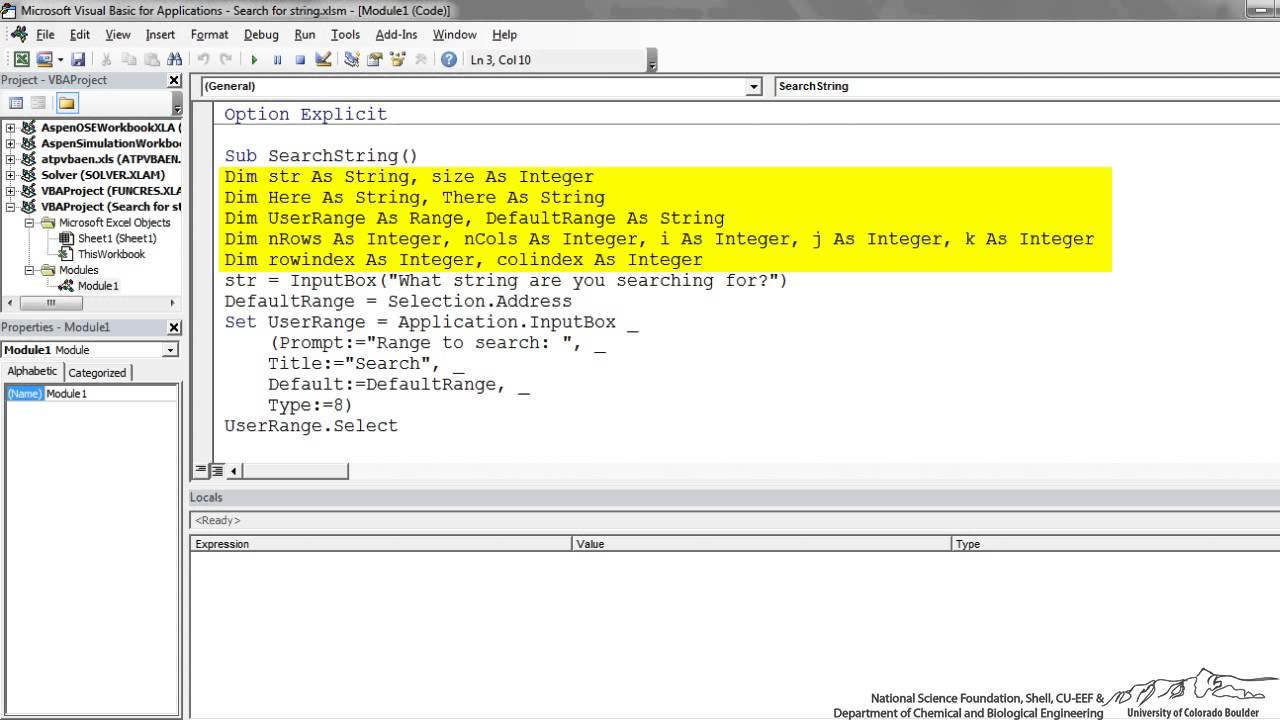 vba search pdf for string