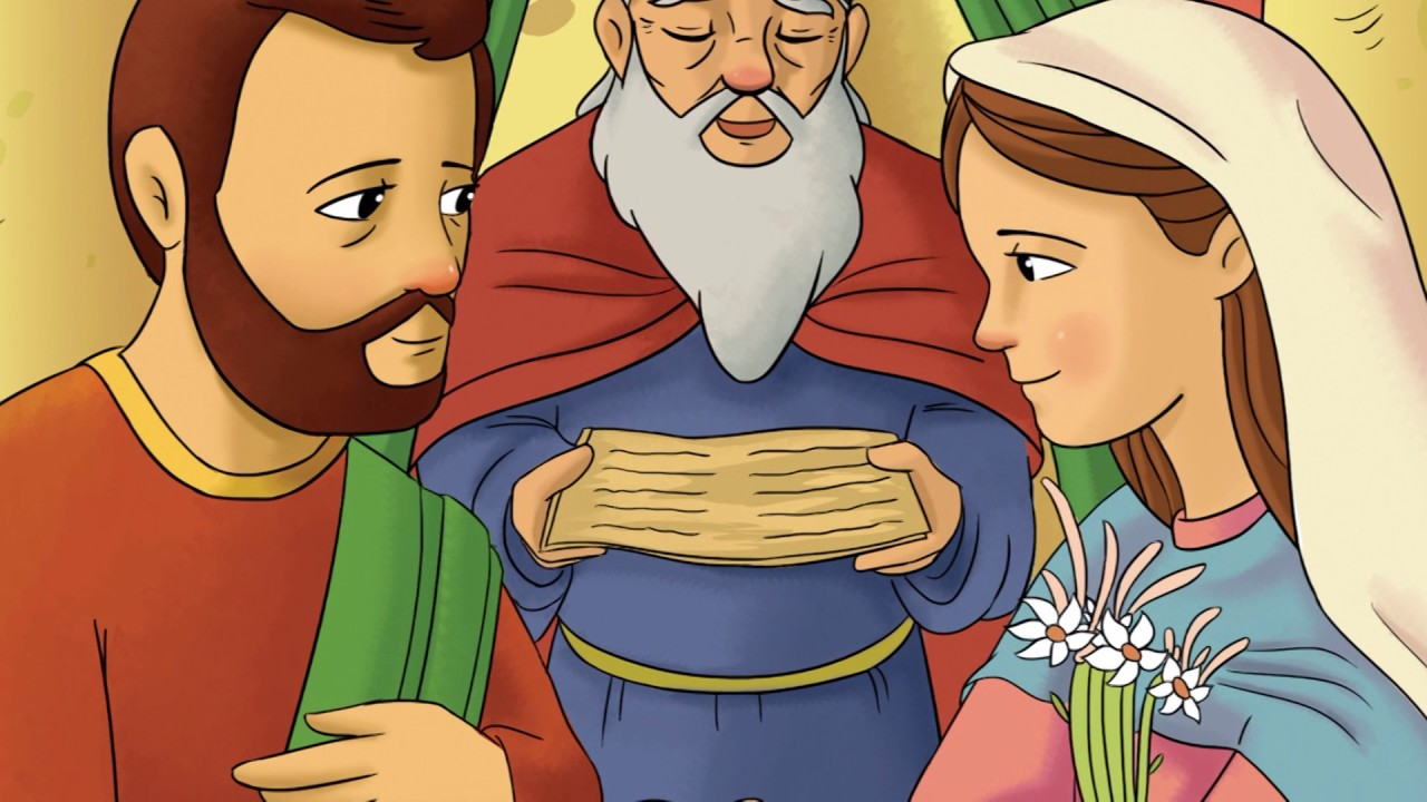 La vida de María - María y los discípulos en Pentecostés