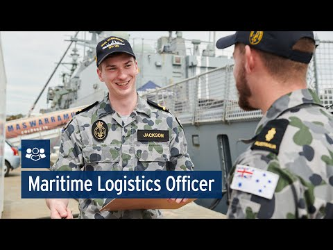 Navy: Maritime Logistics Officer