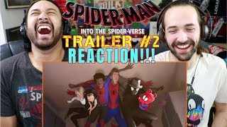 SPIDER-MAN: INTO THE SPIDER-VERSE - Official TRAILER #2 - REACTION!!!