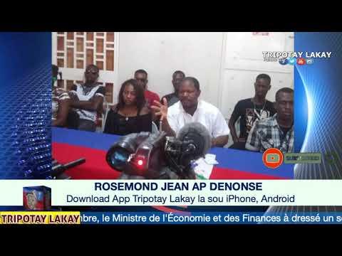Rosemond Jean ankò denonse ak avili André Michel, Shiller Louidor ak Opozisyon yo