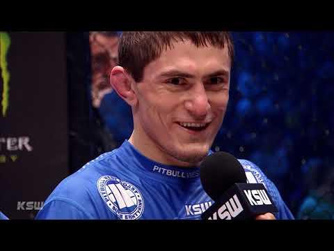 KSW 52: Shamil Musaev - Wywiad w klatce