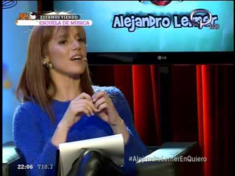 Alejandro Lerner en canal quiero programa Escuela de música Septiembre 2016 Parte 3 de 3