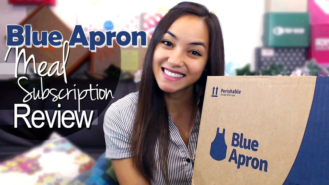 Blue apron youtube review - Blue Apron Meal Subscription Review Oct 2014