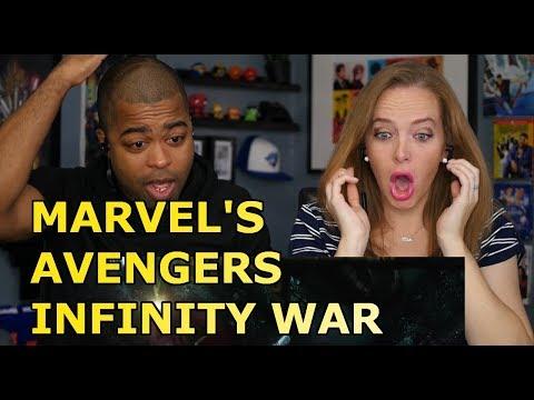 MARVELS AVENGERS: INFINITY WAR | Official Trailer (Reaction🔥)