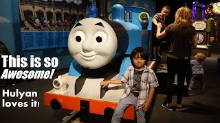 Thomas the Tank Engine Kid Size Replica! Hulyan loves this Train!