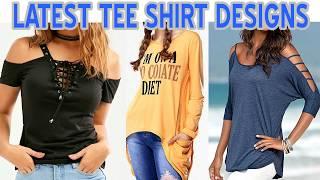 Latest Girl TShirt Designs / Women Tee Shirt