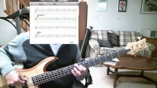Yes - Five Per Cent For Nothing Bass cover