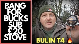 THE BULIN T4 CAMPING STOVE  *CARP FISHING*