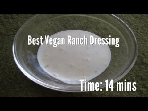 Best Vegan Ranch Dressing Recipe