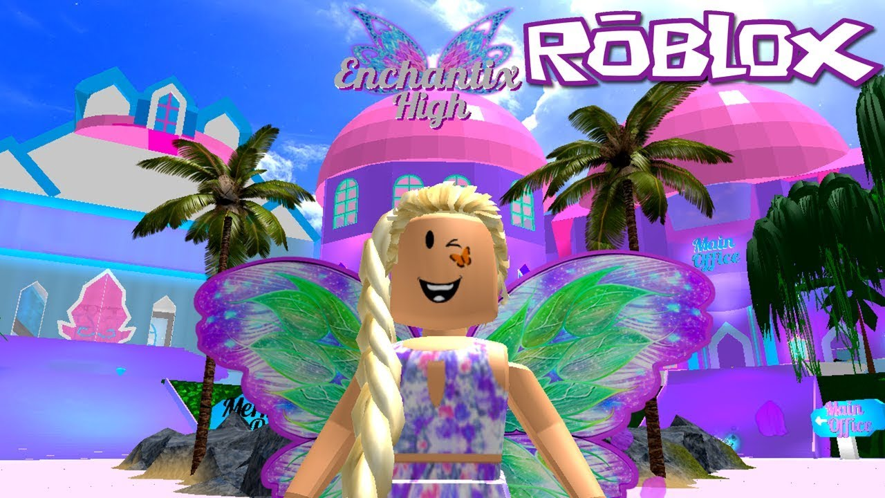 Roblox Fairies Mermaids Winx High School Beta Nature Fairy