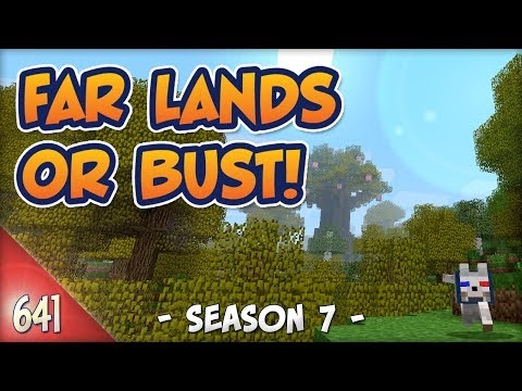 Minecraft Far Lands or Bust - #641 - Season 7: Shoeless!