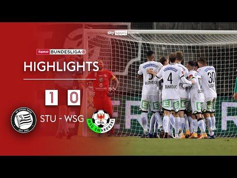 tipico Bundesliga, 9. Runde: SK Sturm Graz - WSG Tirol 1:0