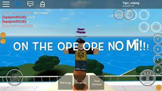 Ope Ope No Mi Showcase| ROBLOX| Steves one piece