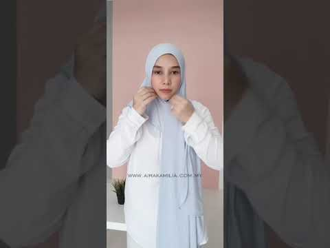 Simple & Easy to wear Hijab - by Aira Kamilia