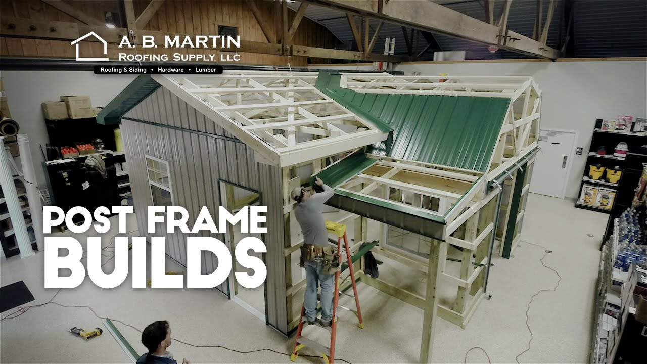 Post Frame Buildings - A B  Martin Building Materials