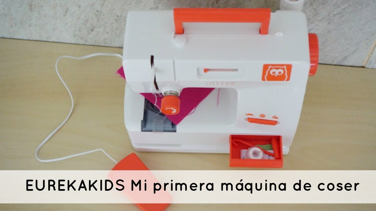 EUREKAKIDS Mi primera máquina de coser - YouTube