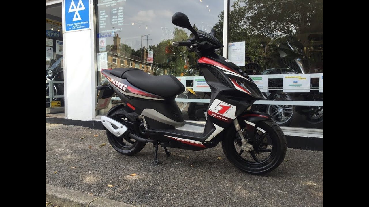 piaggio nrg power 50cc 2010 black - youtube