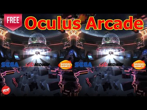 Oculus Arcade VR 3D SBS Video Gameplay - Classic video-gaming action comes to VR.