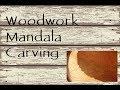 Wood Carving ~ Mandala pt 4 ~ Stipple work