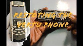 Restoring the Vertu phone - Vintage Console Restoration & Repair