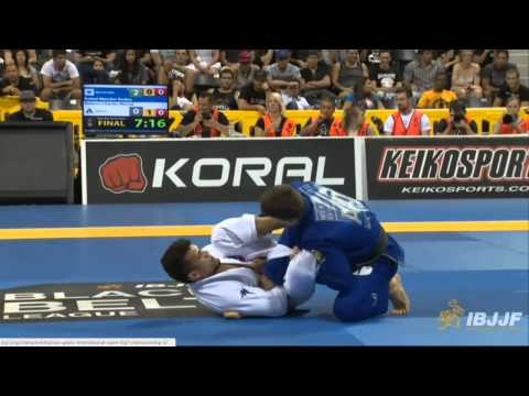 2014 World Jiu Jitsu - Rafael Mendes vs Ruben Charles - Black Belt FINALS