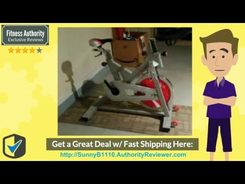 [Review & SALE] Sunny Health & Fitness SF-B1110 Indoor Cycling Bike