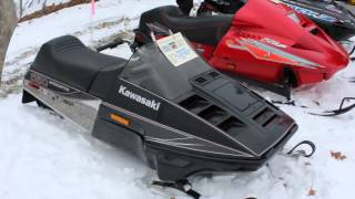 Vintage Snowmobile Show Top of the Lake 2015 South China, Maine