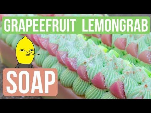 Grapefruit LEMONGRAB Soap   Royalty Soaps