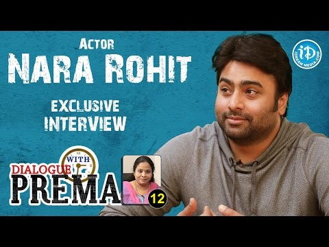 Nara Rohit Exclusive Interview || Dialogue With Prema || Celebration Of Life #12 || #266