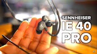 Sennheiser IE 40 Pro REVIEW and UNBOXING : Best sub $100 IEM?