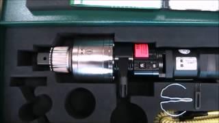 Электрический моментный гайковерт JUWEL, мод. TES-604 купить(Промышленный электрический моментный гайковерт JUWEL серия