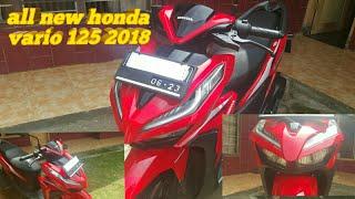 All new honda vario 125 facelift 2018 fitur makin canggih