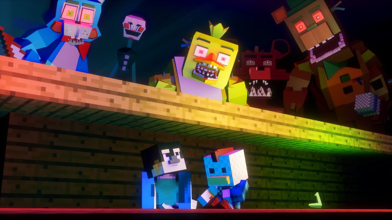 Minecraft escape from five nights at freddy 39 s the for The atlantic craft minecraft