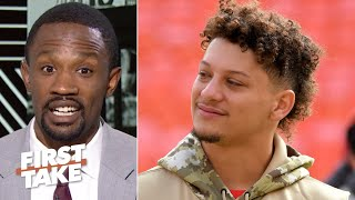 Patrick Mahomes should risk re-injury and return to the Chiefs - Domonique Foxworth | First Take