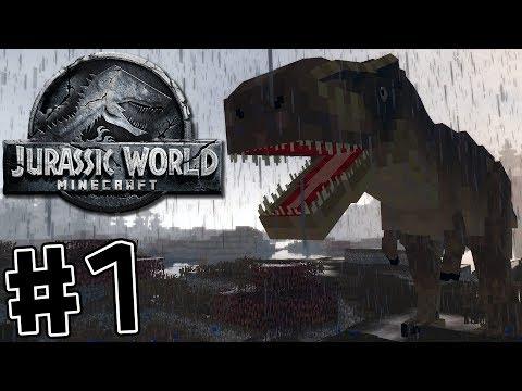 Minecraft Jurassic World: Forbidden Kingdom #1 Same Place, Different Time!