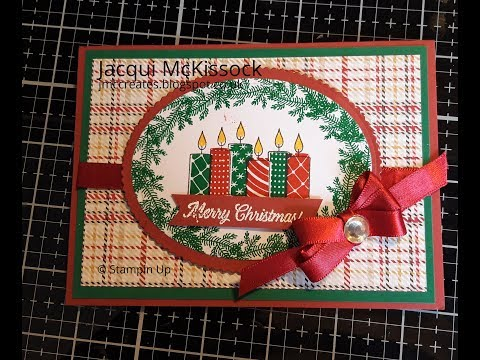 Merry Patterns Red And Green Xmas Card Thur 20 Sept 18